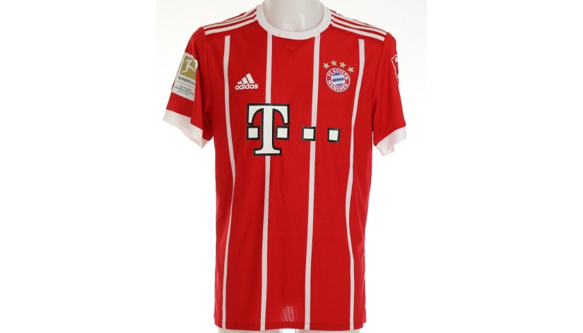 Hummels' Bayern Munich Match Shirt, 2017/18