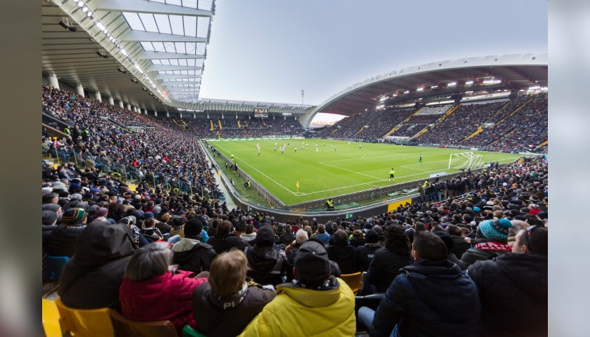 Mascot Experience at the Udinese-Hellas Verona Match