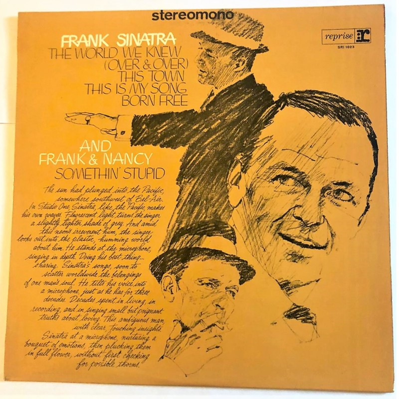 """""""The World We Knew"""" LP by Frank Sinatra, 1967"""
