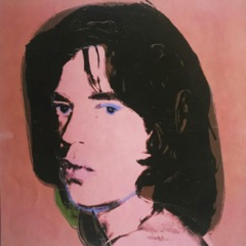 """Mick Jagger"" by Andy Warhol"