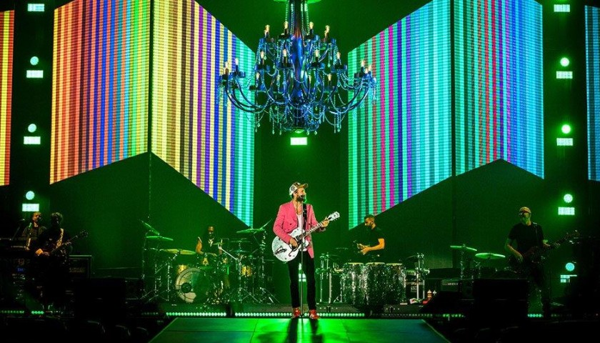 "Prop Chandelier from Jovanotti's ""Lorenzo Live 2018"" Tour"