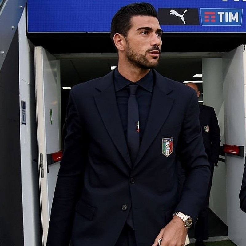 Graziano Pelle's Italy National Football Team Shirt by Ermanno Scervino
