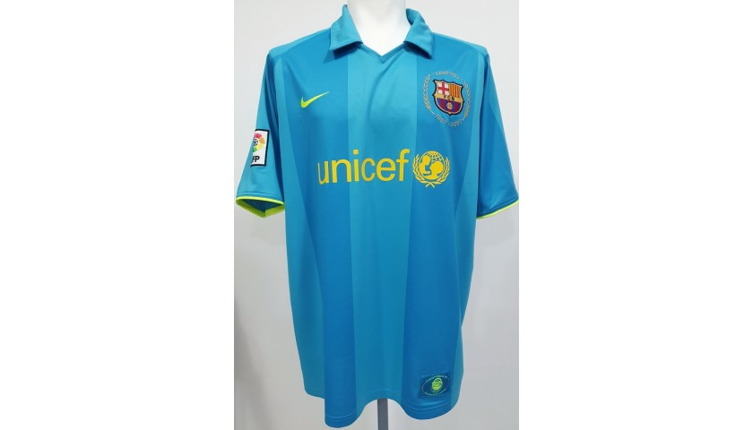 Messi's Official Barcelona Signed Shirt, 2007/08