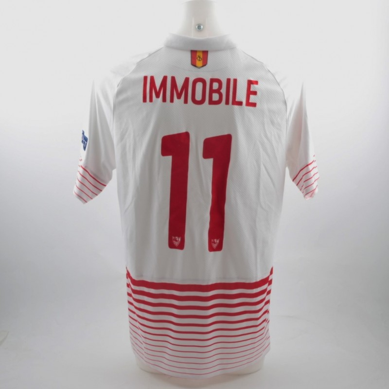 Immobile shirt, issued for Sevilla-Juventus Champions League 8/12/15