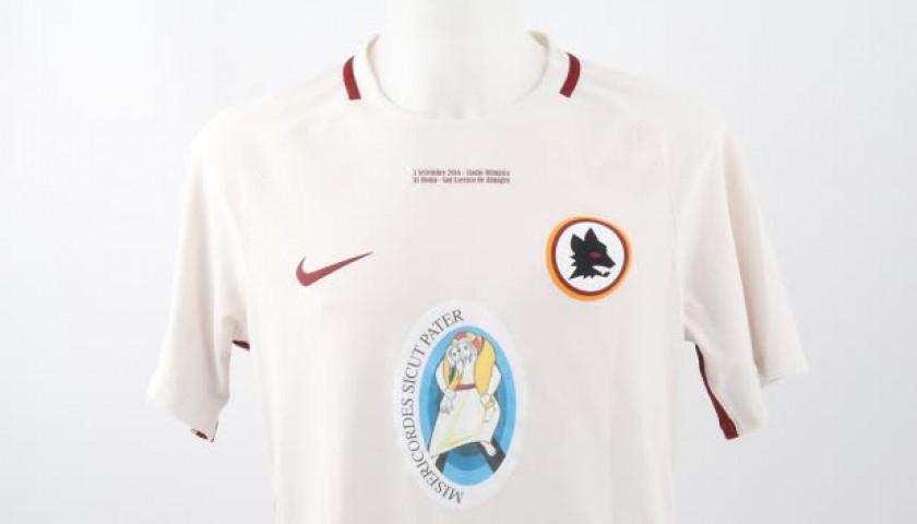 Match worn Totti, Roma-San-Lorenzo 3/09/16