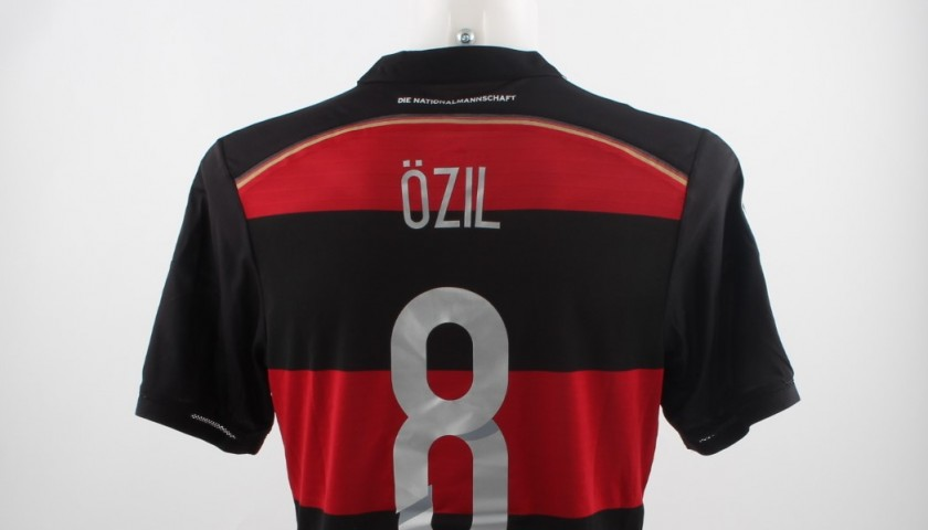 Ozil shirt, issued/worn Brazil-Germany, 7/8/14, World Cup 2014 Semifinal