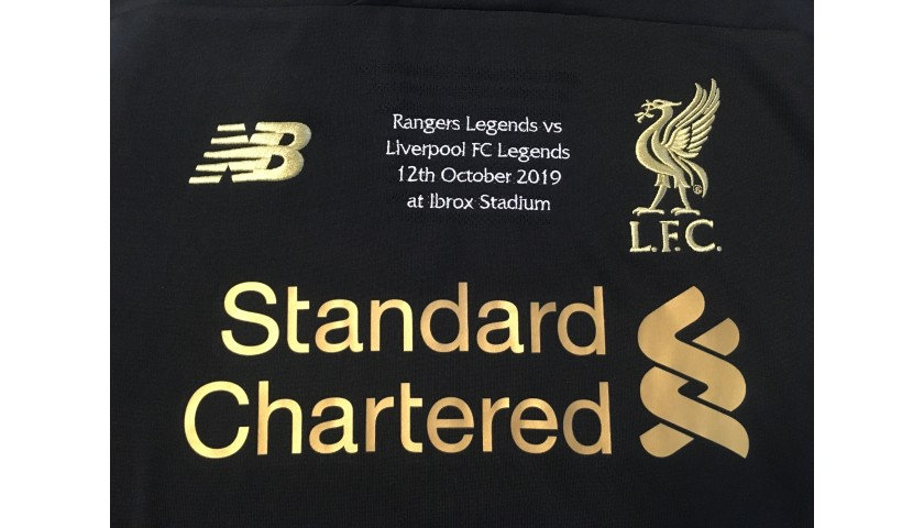 Kirkland's Liverpool FC Legends Match Worn and Signed Shirt