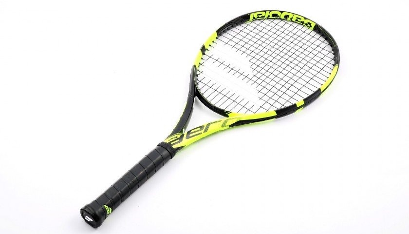 Rafael Nadal's Official Babolat Signed Racket