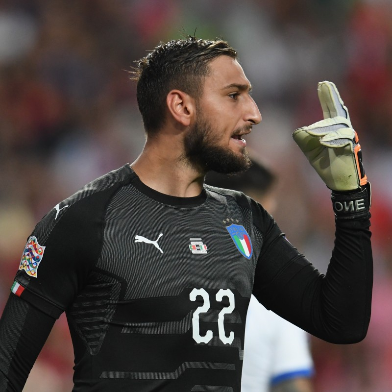 Donnarumma's Match Shirt, Portugal-Italy 2018