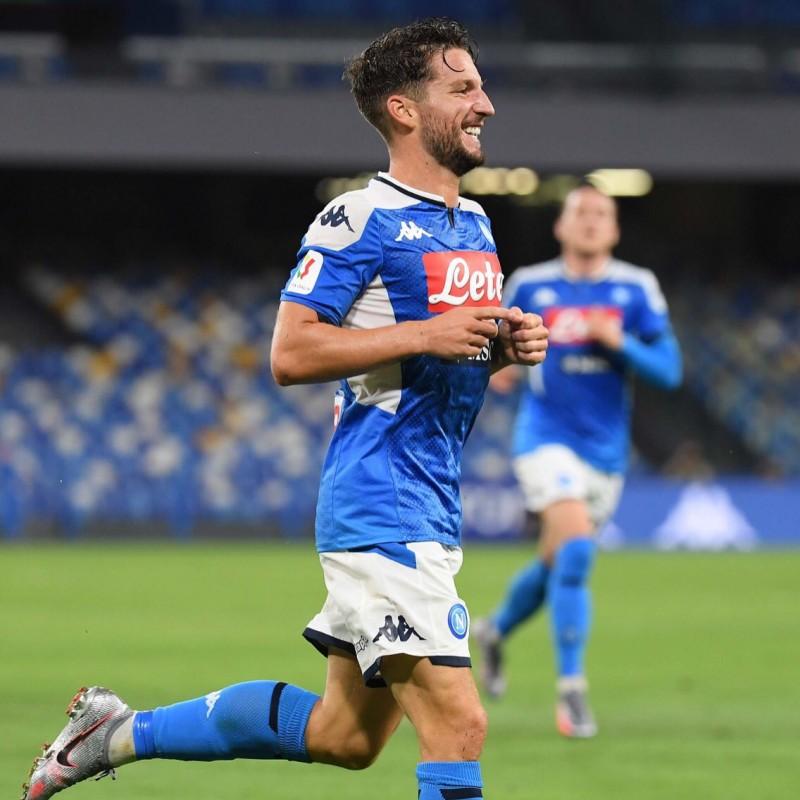Mertens' Napoli Signed Match Shirt, 2019/20