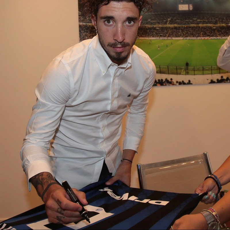 Inter Shirt Signed and Hand-Delivered by Sime Vrsaljko