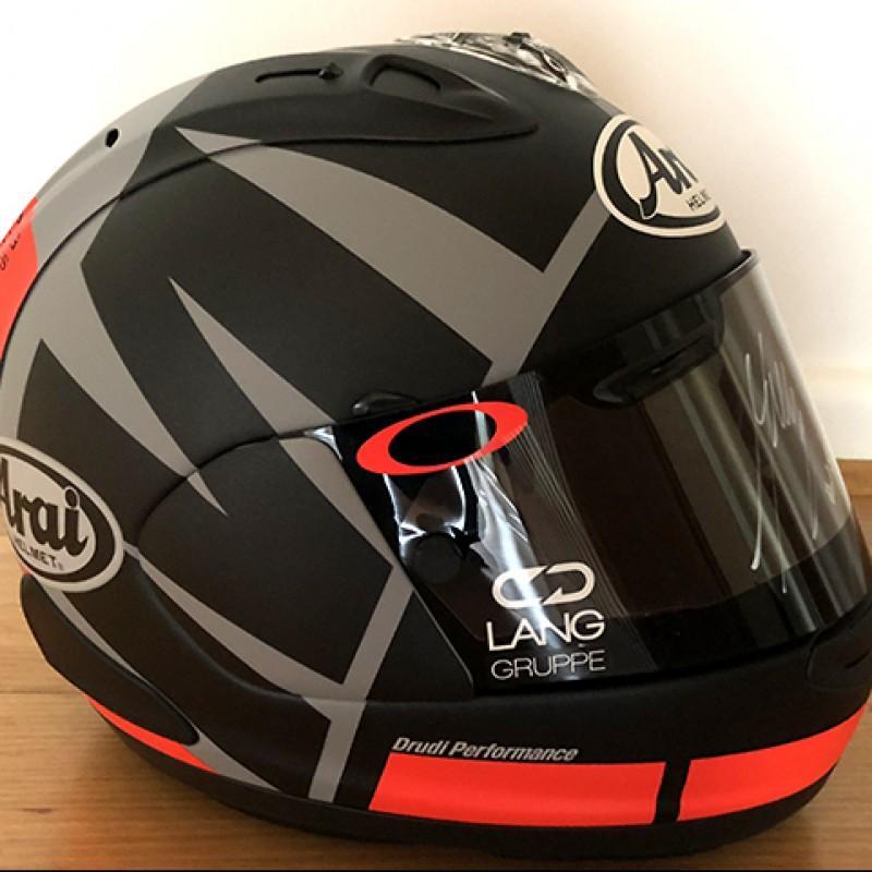 Maverick Viñales Signed Replica Arai Helmet and Visor