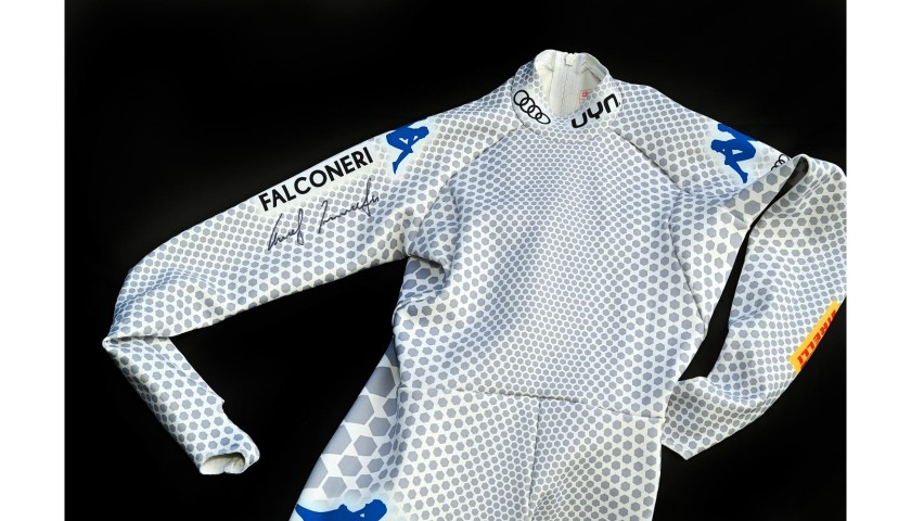 Christof Innerhofer's Signed Race Suit and Helmet