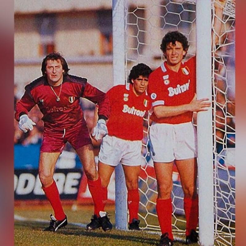 Giordano's Napoli Worn Shirt, 1987/88