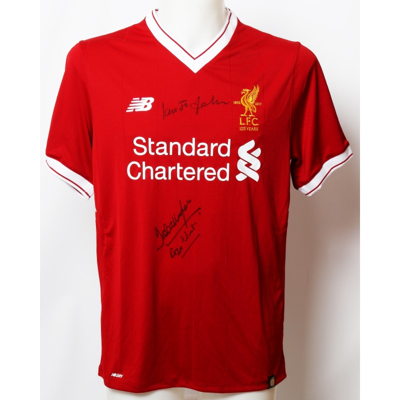 "Official LFC 125 ""1965"" Shirt Signed by Hunt, St John and Callaghan"