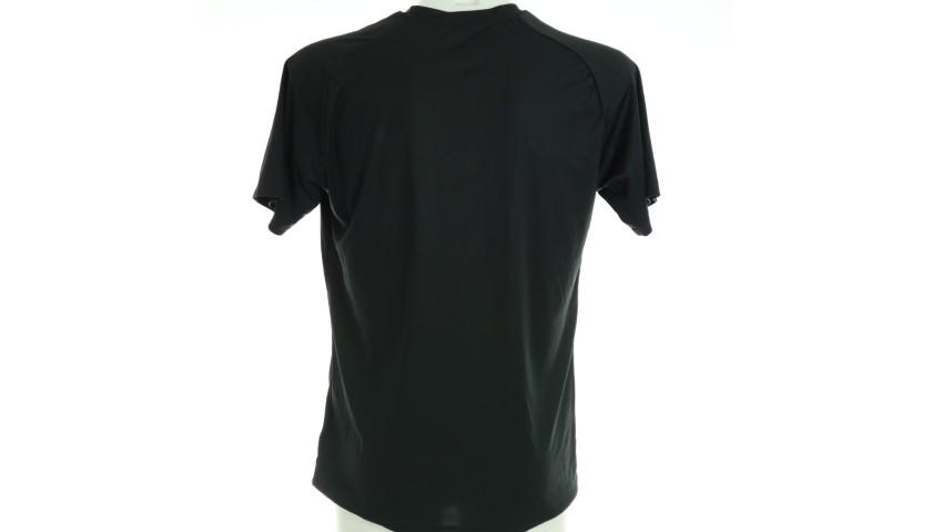 """""""Black Lives Matter"""" Training Shirt, Juventus-Milan - Signed by Biglia"""