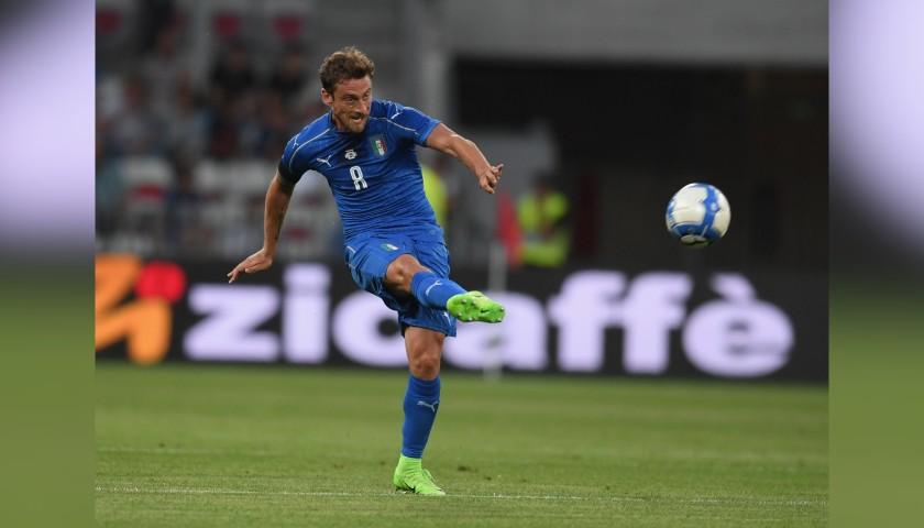 Marchisio's Match Shirt, Uruguay-Italy 2017 - Last Match