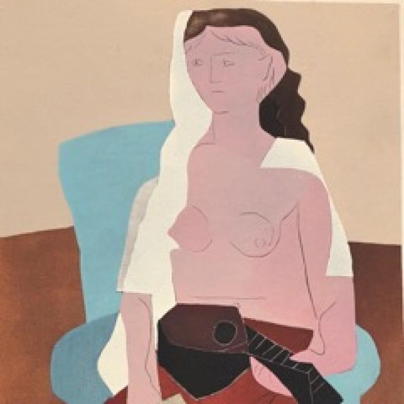"""Nu Avec Mandoline"" by Pablo Picasso"