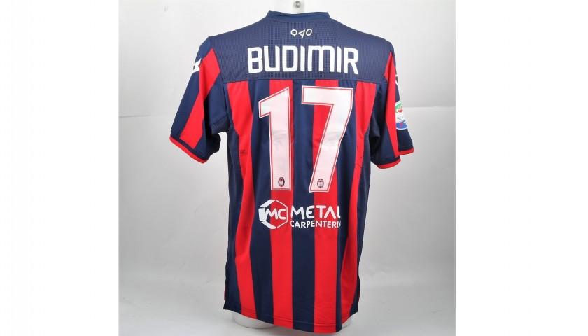 Budimir's Signed Match-Worn Crotone-Chievo Shirt, 2017/18