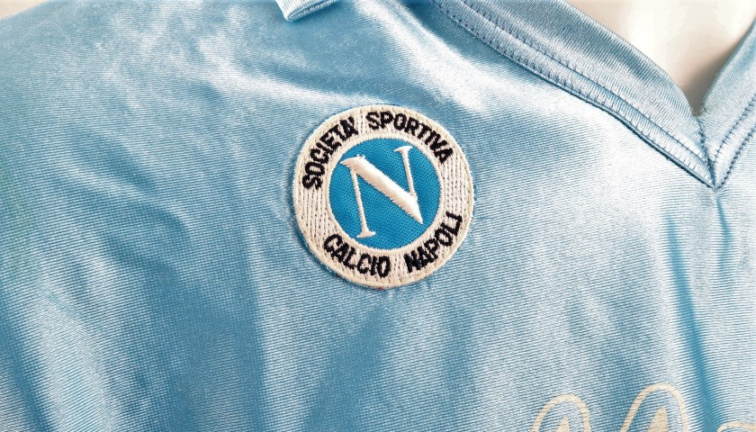 Maradona's Match-Issued/Worn Napoli Shirt, 1988/89