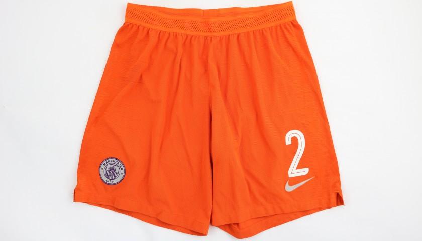 Walker's Manchester City Match Shorts, Champions League 2018/19