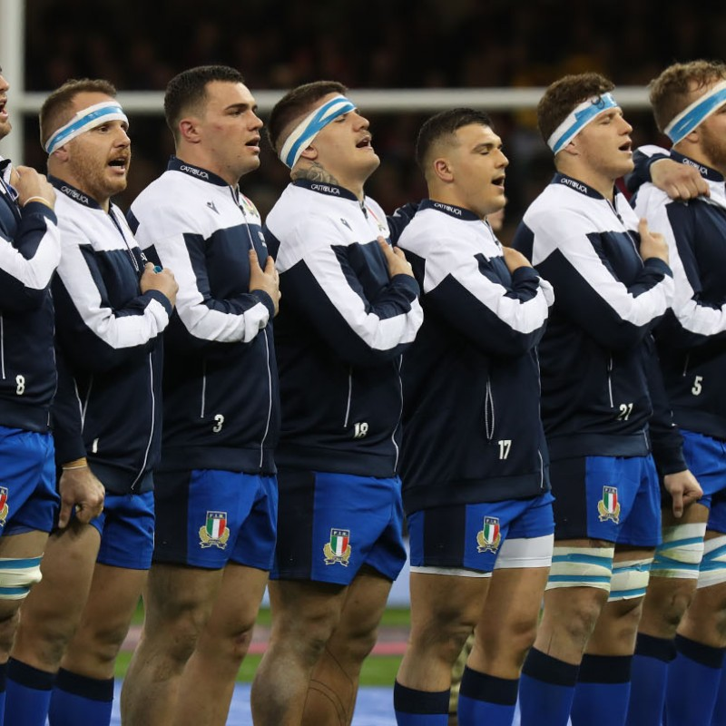 Mascot Experience at Italy vs France, Six Nations 2021