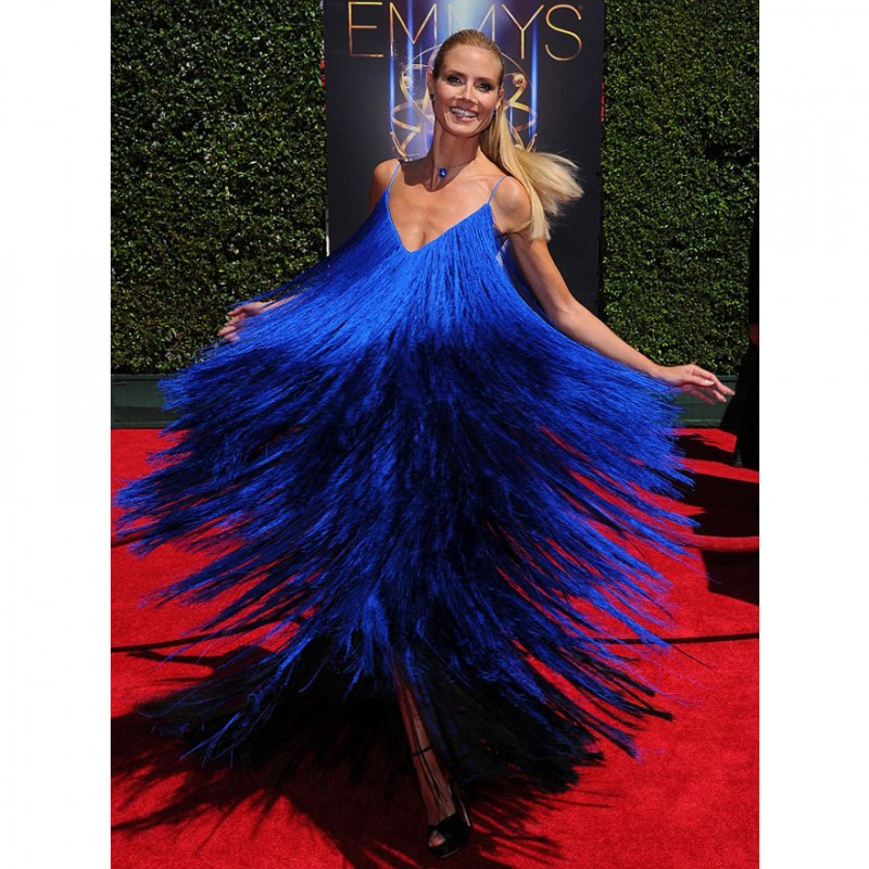 Heidi Klum's Dress by Sean Kelly from the Emmy Awards