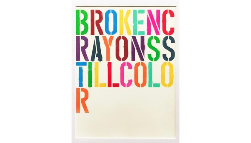 """Broken Crayons Still Color"" by Thomas Hussung"