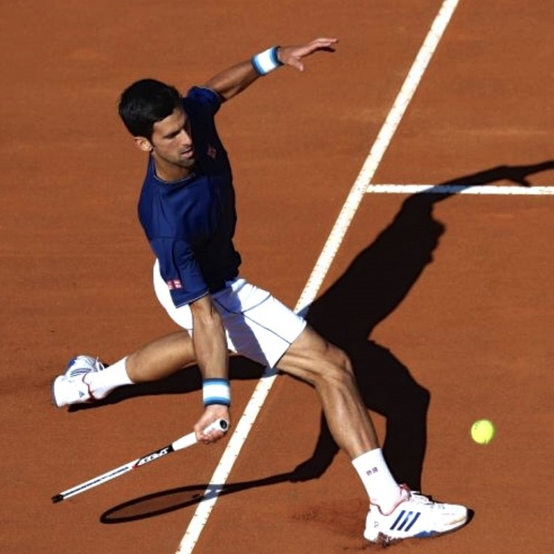 Adidas Tennis Shoes Worn by Djokovic for the 2017 Italian Open Final