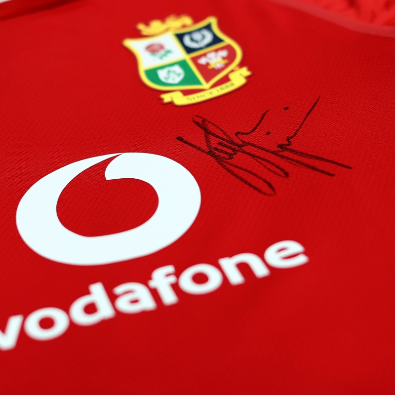Lions 2021 Test Shirt - Worn and Signed by Justin Tipuric