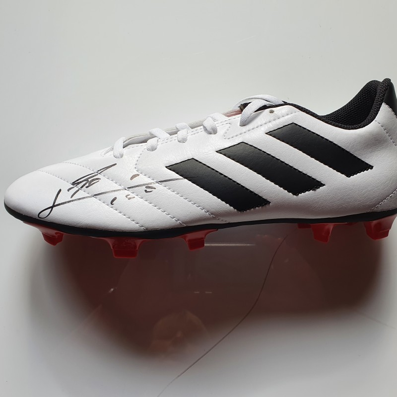 Leo Messi's Signed Boot