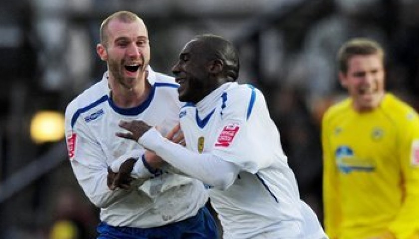 Burton Albion Match Shirt, 2009/10
