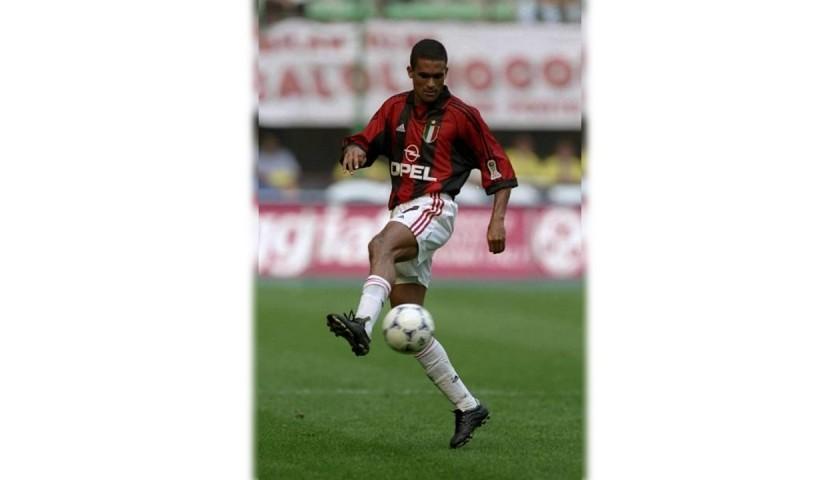 Serginho's AC Milan Centenary Match Shirt, 1999/00