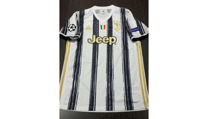 Dybala's Official Juventus Signed Shirt, 2020/21