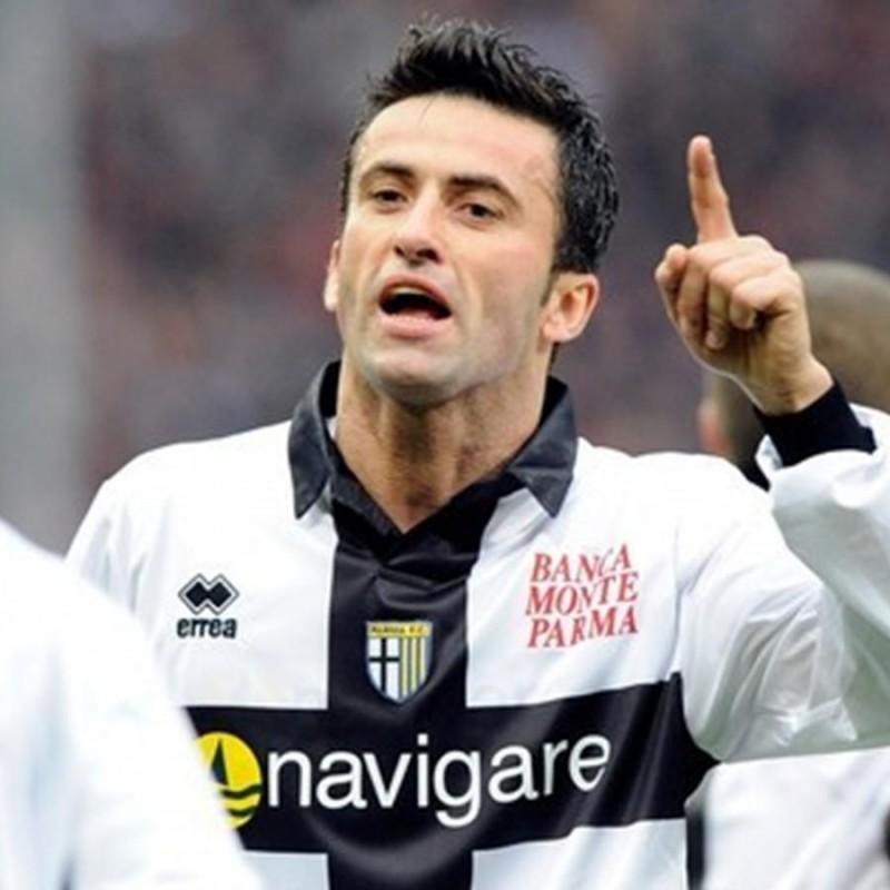 Panucci's Parma Signed Match Shirt, 2009/10