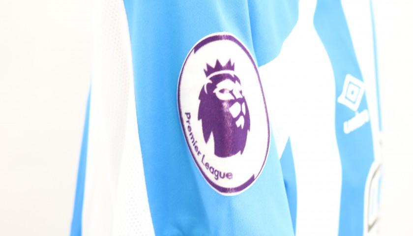 Mooy's Match-Issued Shirt, Huddersfield-Man City 2019
