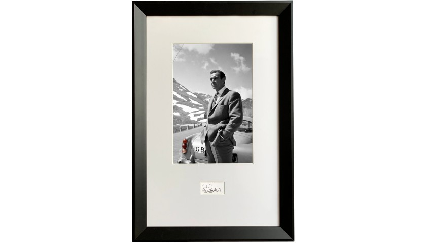 Sean Connery Signed James Bond Picture