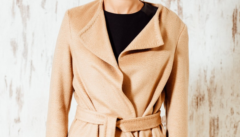 Andaj's Exclusive Coat in cashmere