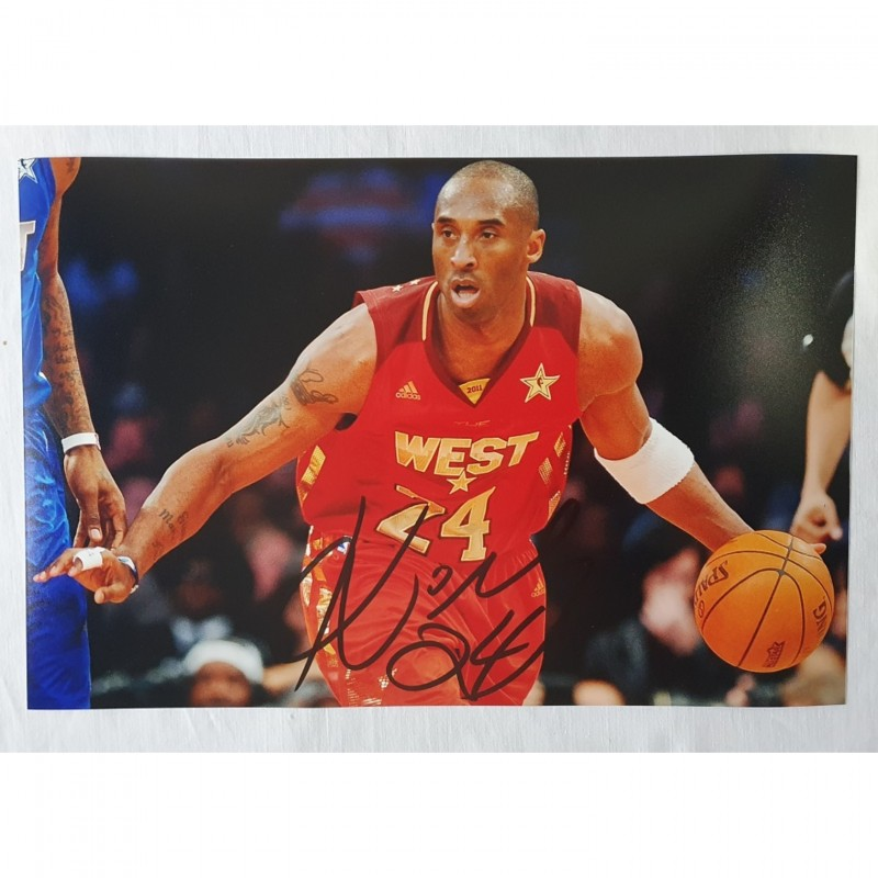 Photograph Signed by Kobe Bryant