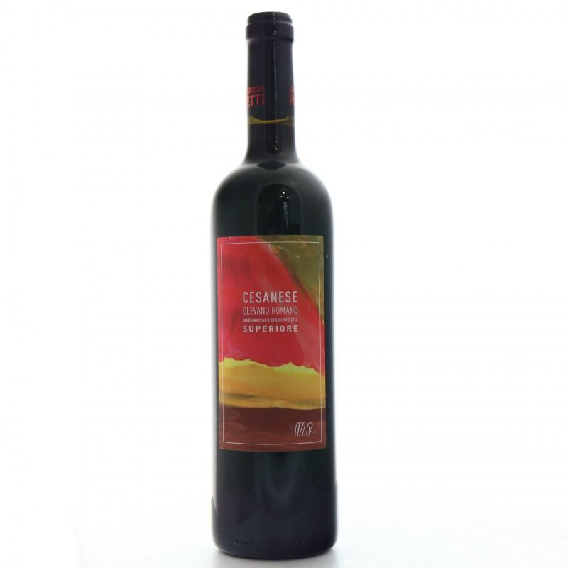 Bottiglia Cesanese Olevano Romano Superiore 2018