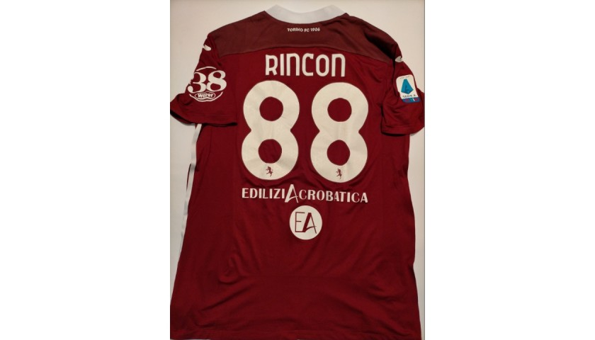 Rincon's Torino Signed Match Shirt, 2020/21