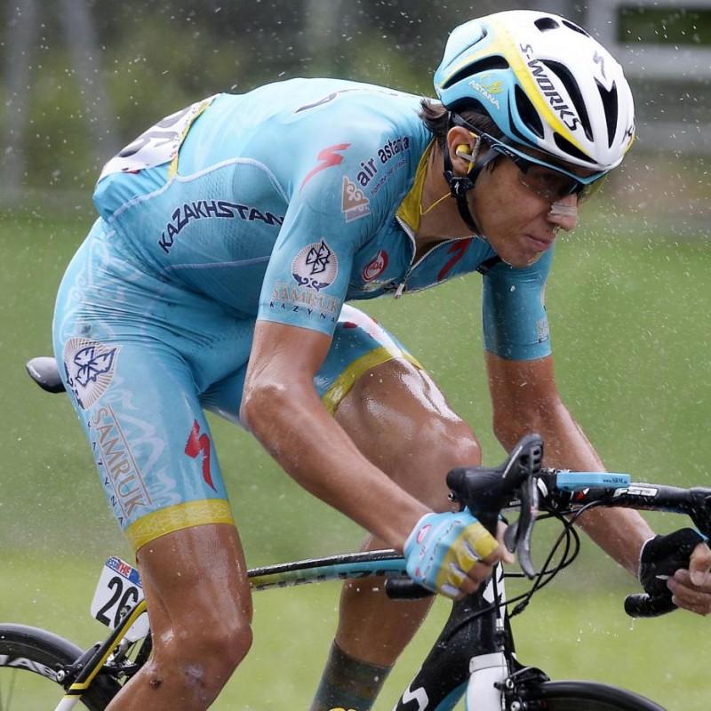 Diego Rosa's Worn Shirt, 2016 Tour de France - Autographed