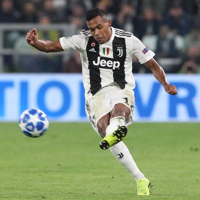 Alex Sandro's Official Juventus 2019/20 Signed Shirt