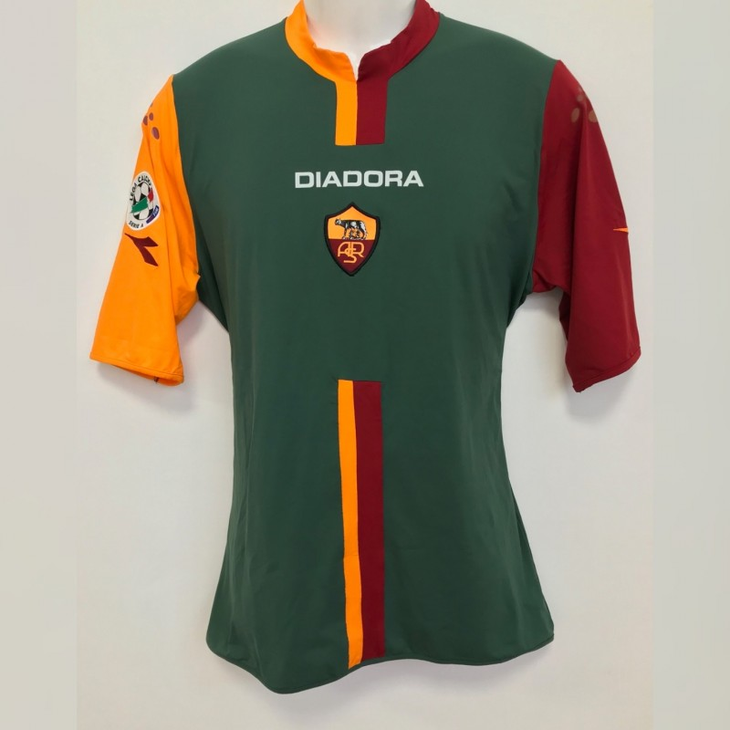 Totti's Roma Match-Issue Shirt, Serie A 2005/06