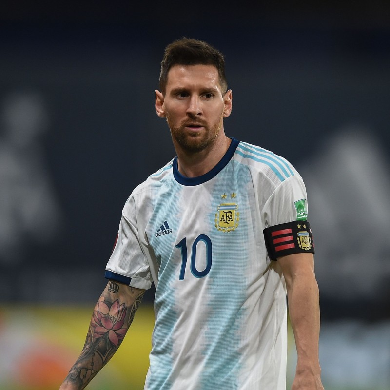 Messi's Argentina Signed Match Shirt, 2019