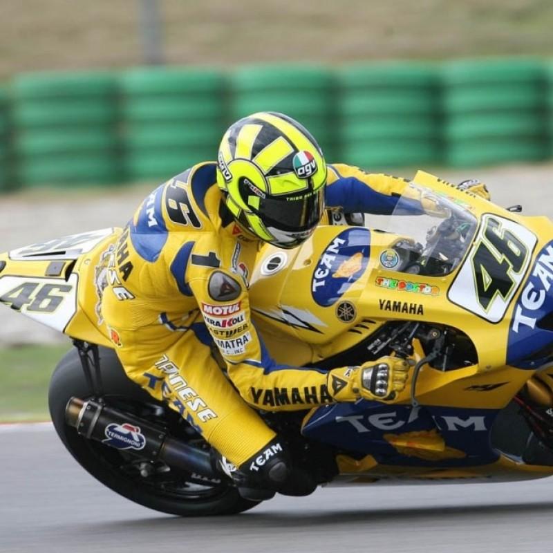 Valentino Rossi Signed Replica Helmet