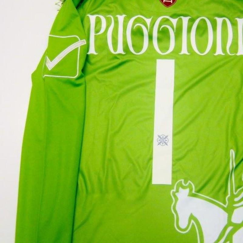 Chieo Verona match issued shirt, Puggioni, Serie A 2013/2014