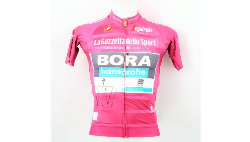 Cyclamen Jersey, Giro d'Italia 2019 - Signed by Ackermann