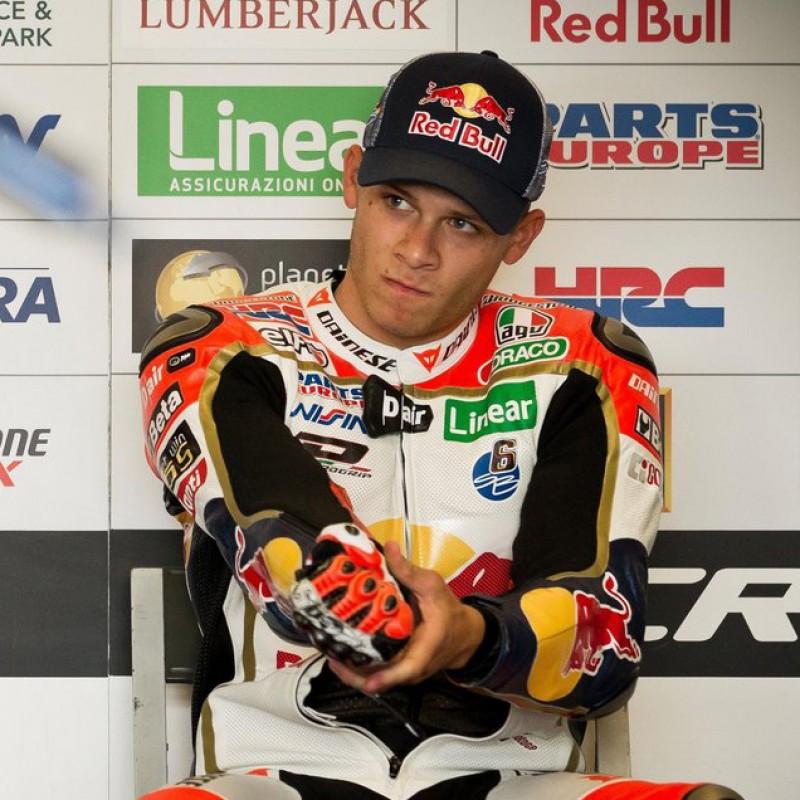 LCR Moto GP Team Racing Suit Replica, Signed by Stefan Bradl