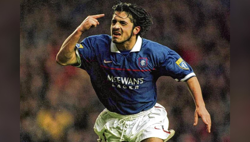 Gattuso's Official Rangers Signed Shirt, 2006/07